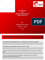 MARKETING GROUP AIRTEL