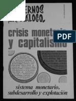 Capitalismo y Crisis Monetaria