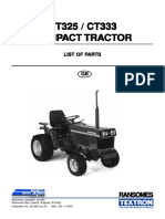 Ransomes CT325-CT333