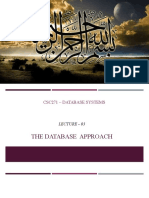 03 Database Approach
