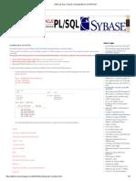 ORACLE SQL, PL_SQL_ Handling BULK EXCEPTION
