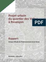 DOCUMENT. Ecoquartier des Vaites à Besançon