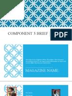 Component 3 Brief