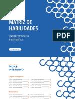 Matriz de Habilidades Essenciais - Língua Portuguesa e Matemática - 2020
