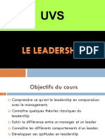 Cours Leadership UVS 2017