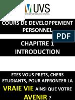 Cours de développement personnel