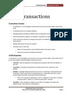 Ghani DBMS Transaction