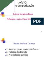 Aula_11-Grupo_2-MetaisAlcalinosTerrosos-QIB