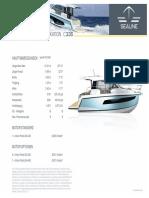 Sealine C335 Technische Daten
