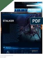 Stalker-Unit Description - Game - StarCraft II