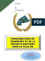 OUONGO Sécurité routière Ouagadougou