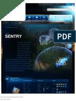 Sentry-Unit Description - Game - StarCraft II