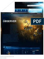 Observer-Unit Description - Game - StarCraft II