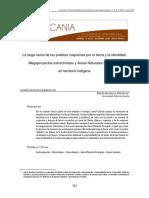 ANP y mapuches, caso chileno - Americanía 2020