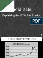 Gold Rate - Explaining the 1970s Bull Market