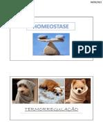 Aula 2 - termorregulação- PDF