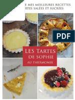 Recettes Thermomix Les Tartes de Sophie