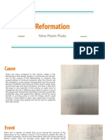 reformation history project