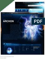 Archon-Unit Description - Game - StarCraft II