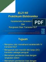 Minggu 04 - Perc 2 - Pengukuran Karakteristik transistor