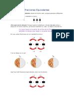 Fracciones Equivalentes-taller de Matemática
