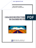STRUCTURES TYPES CHAUSSEE