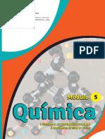 Módulo 5 de Química da 8ª, 9ª e 10ª classe em PDF
