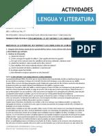 4° AÑO LENGUA Y LITERATURA TP 8