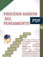 PROCESOS BÁSICOS DEL PENSAMIENTO