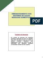 HU2_1819_02b_SISTEMAS_PREDIAIS_DE_DRENAGEM_AR_Dimensionamento