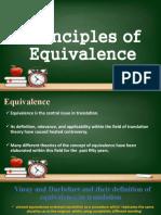 Principles of Equivalence