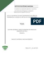 Calculo de perfiles de radio interferencia en lineas de transmiSion