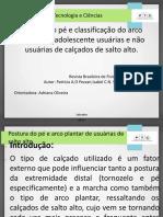 slide projeto integrador postura pé