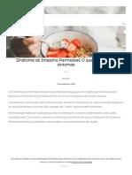 Síndrome do Intestino Permeável_ O que é e quais os sintomas - Cuidaí