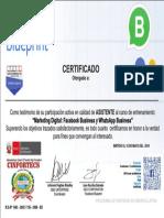 Certificado Oficial