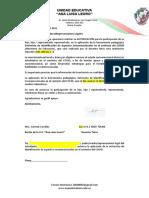 Carta de Consentimiento (10 Marzo