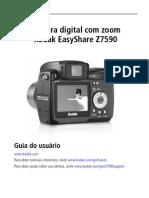Configuração camera digital