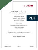 CCV223.Corrigé Examen.2014 2015