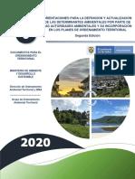 Cartilla Determinantes Ambientales Mads (2020)