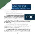 0228.Stec Calls on Cuomo to Resign
