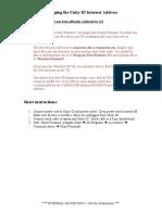 2011-10-10-Changing the Unity ID IP Address