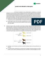 Exercíciosdiscursivos-biologia-Exercícios Sobre Segunda Lei de Mendel e Interações-06!07!2020-Bd0f7b216f187f1756c3de75e7659f15