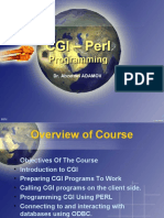 Introduction 2 Perl CGI