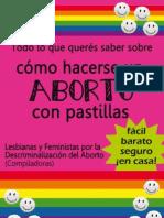 Aborto-seguro-con-pastillas-El Colectivo-2010-Argentina
