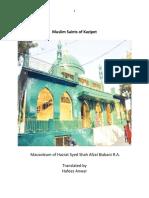 Muslim Saints of Kazipet