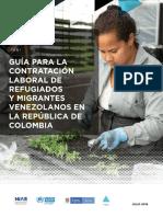 guia de contratacion venezolanos en colombia