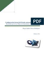 Configuración formal del Estado autonómico en Bolivia. Recorridos por la Ley Marco de Autonomías y Descentralización