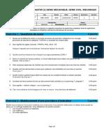 Examen 2018-2019- M1GC S2 Organisation de chantier