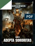 Codex Sororitas - Trasfondo