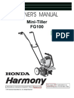 tiller owners manual